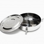 12 cm Round Divided Air Tight Food Container