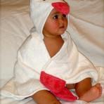 Chickadee Bath Wrap