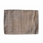 Mushroom Ribbed Towels
